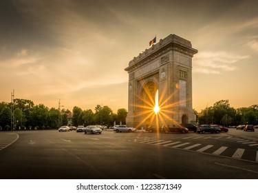 Arch of Triumph Bucharest Romania Arcul de triumf