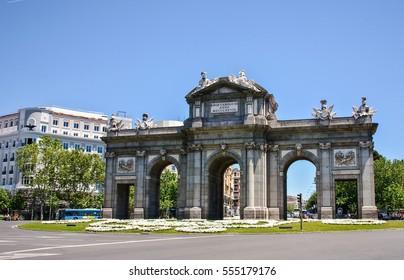 Arch of Triumph - Gate of Alcala, Madrid, Spain