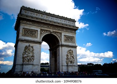Arch of Triumph in Paris