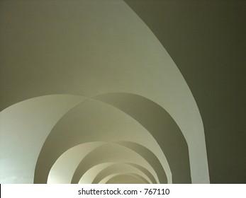 Arch tunnel