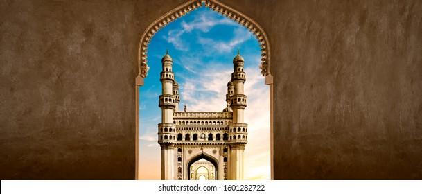 Arch View Charminar.Hyderabad,Telangana,India - Image