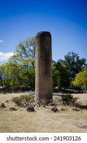 Archaeoligical site of Mitla, Mexico.