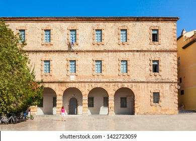 Archaeological Museum of Nauplion is located on Syntagma or Constitution square, the central square of Nafplio town in Greece.
