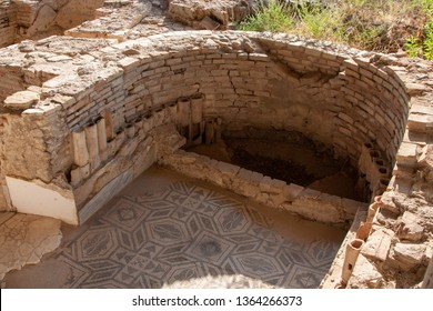 Archaeological remains of the magnificent Roman villa. It is located in the municipality of Casignana in Calabria. The original structure dates back to the 1st century AD