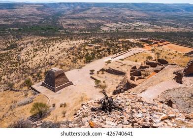 Archaeological site of La Quemada, Zacatecas (Mexico)