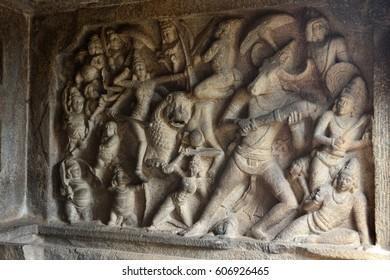 archaeological site, Mamallapuram