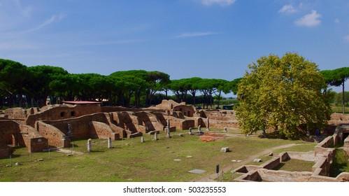 "Archaeological site of ""Ostia antica"""