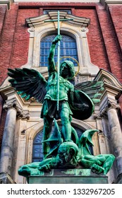 Archangel Michael in Hamburg, Germany