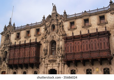 The Archbishop Palace is the home of the Archbishop of Lima.