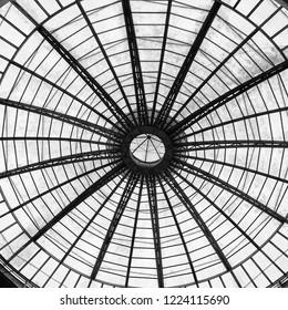 arched glass atrium