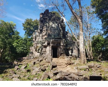 The archeological complex ofPreah Khan (of) Kampong Svay