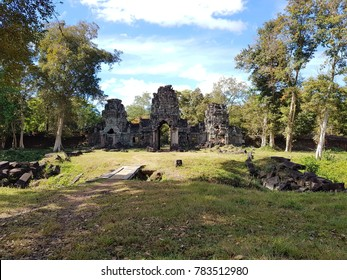 The archeological complex of Preah Khan (of) Kampong Svay