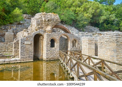 Archeological ruins at Butrint National Park, Albania, UNESCO