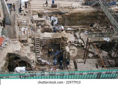 Archeologists uncover remnants of the old city in Jerusalem
