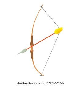 Archery ammunition icon. Isometric illustration of archery ammunition icon for web
