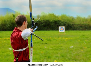 Archery in the preparation phase