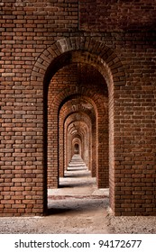 Arches of Fort Jefferson at Dry Tortugas National Park