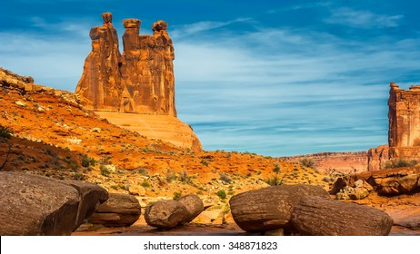 Arches National Park contains the greatest density of natural sandstone arches in the world.