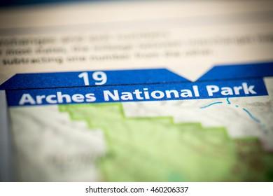 Arches National Park. Utah. USA