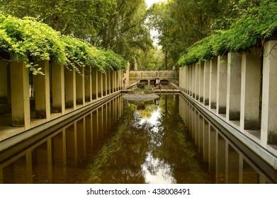 Arches in the park, Paris