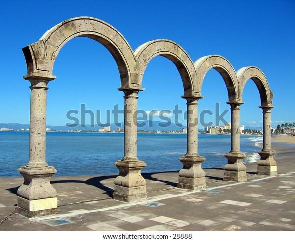 Arches in Puerto Vallarta, Mexico