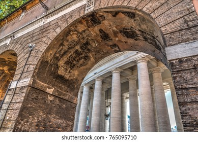 Arches in Vatican City by Saint Peter's square