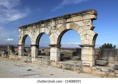 Arches at Volubilis
