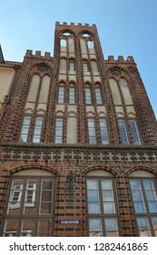 Archidiakonat in Wismar, Mecklenburg western  Pomerania, Germany, april-30-2017