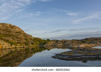 Archipelago of Gothenburg at the west coast ofSweden - Shutterstock ID 682052062