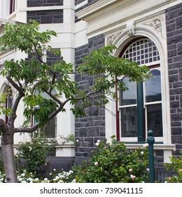 Architechture element of victorian and stottish style Dunedin railway station