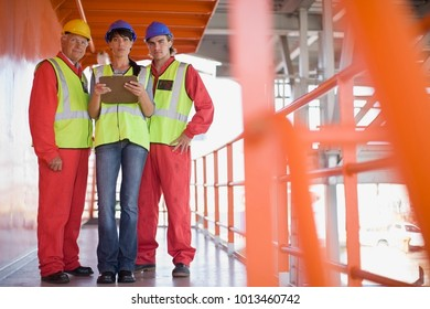 Architect and builders