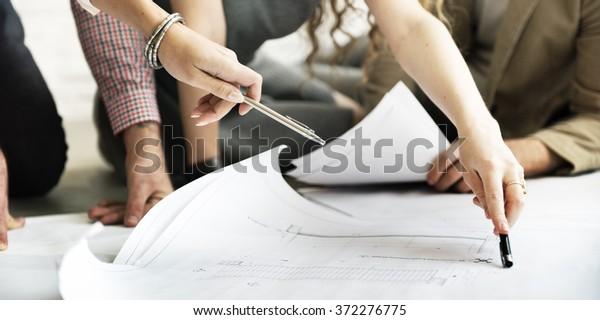 Diskussionskonzept für Architekten-Projekttreffen
