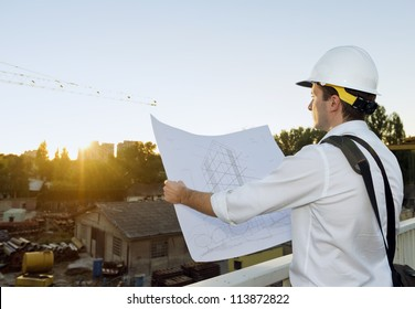 Architect planing a future project