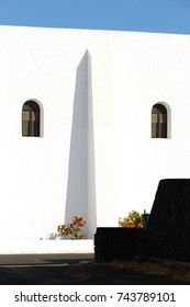 Architectural and abstract sketches in the village of Uga. Lanzarote. Canary Islands. Spain