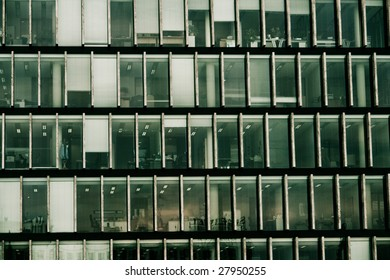 Architectural background with office windows