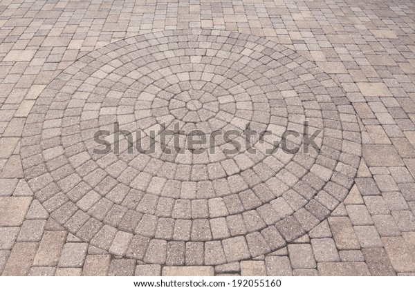 Architectural Background Ornamental Pattern Outdoor Patio Stock