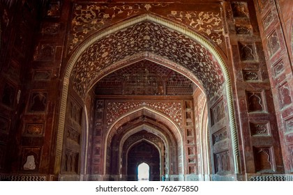 Architectural Building Near Agra Taj Mahal