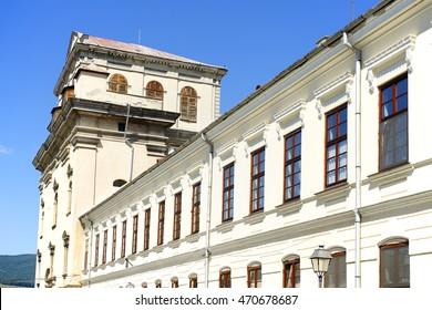 Architectural detail in Alba Iulia Fortress, Romania, Europe