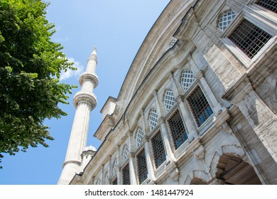 Architectural detail from Blue Mosque in Istanbul