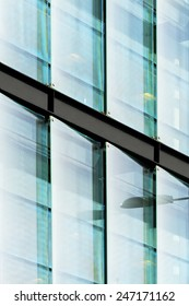 Architectural Detail - Glass Building, London, UK