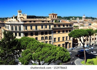 Architectural detail of Rome, Italy, Europe