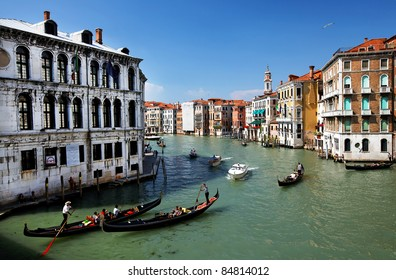 Architectural detail in Venice, Italy, Europe