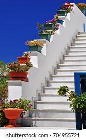 architectural details from Cyclades, Greece/Steps