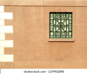 Architectural elements of the Fireproof Building in Charleston, South Carolina