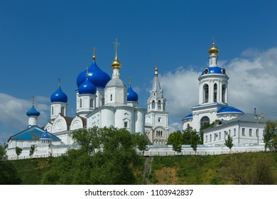 Architectural ensemble of Bogolyubsky monastery in Bogolyubovo village, near Vladimir, Russia.