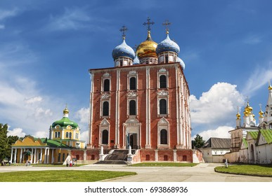 The architectural ensemble of the Ryazan Kremlin. Ryazan historical-architectural Museum-reserve. Ryazan. Russia