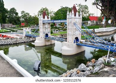 architectural miniatures in mini Siam Park