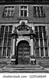 Architectural monochrome photography