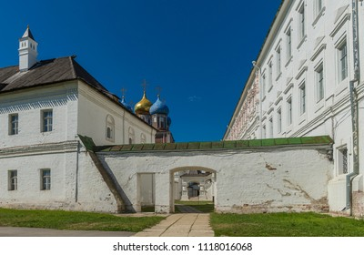 An architectural monument of the 17th century. The Ryazan Kremlin. Ryazan. Russia