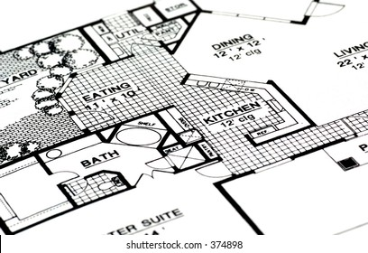 Architectural Plans For a Home.